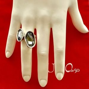 "NWT UNO de 50 Ring ""Yesyes Si Si"" ANI0403; Size 5."